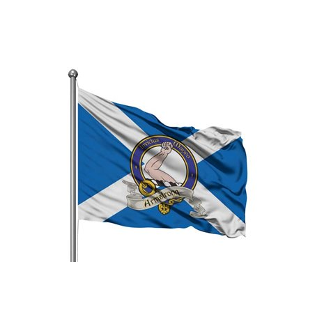 Agnew Scottish Clan Flag - Custom Pole Flag