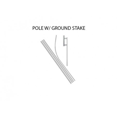 Over 30 MPG Econo Stock Flag Red Yellow and Black p-1577 Stock Flags and Graphic Banners $126.40