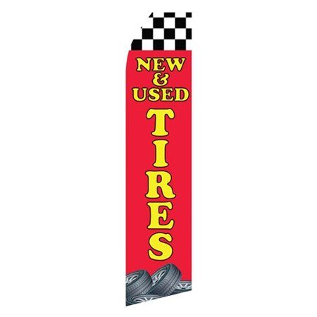 Auto Alarms Blue and Yellow Stock Flag 5965EAC Stock Flags and Graphic Banners $126.40