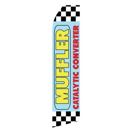 Brake Service Red White and Black Checker Stock Flag E1E1895 Stock Flags and Graphic Banners $126.40