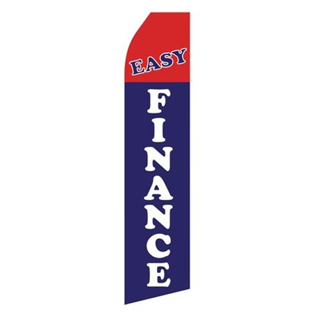 Body Shop Blue and White Stock Flag 83B487A Stock Flags and Graphic Banners $126.40