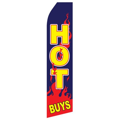 Mufflers Yellow and Red Stock Flag DD4ADF1 Stock Flags and Graphic Banners $126.40