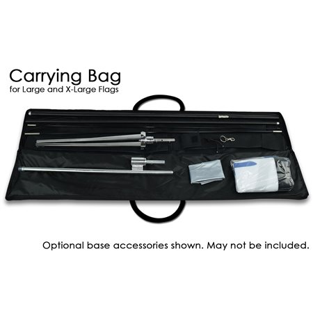 Custom Pole Flags Patriotic Vertical United States of America Eagle Flag CPFUSEAGLEV-red- Pole Flags $59.92