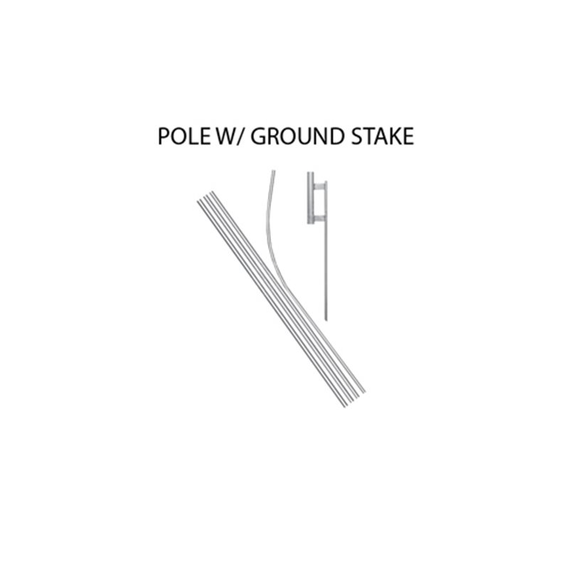 Certified Pre-Owned Econo Stock Flag Red and White p-1522 Stock Flags and Graphic Banners $126.40