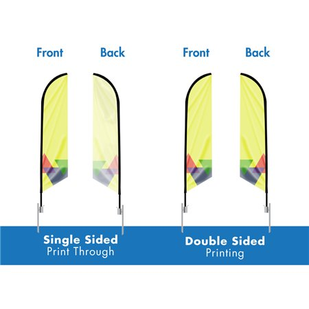 REPLACEMENT GRAPHIC 14ft Extra Large Angled Feather Flag 14ft-LG-AFF-p-1289- Feather Flags $80.38