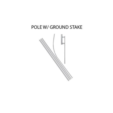 Blue 1 & 2 Bedrooms Available Econo Stock Flag iP-1827 Real Estate Branding & Signage $126.40