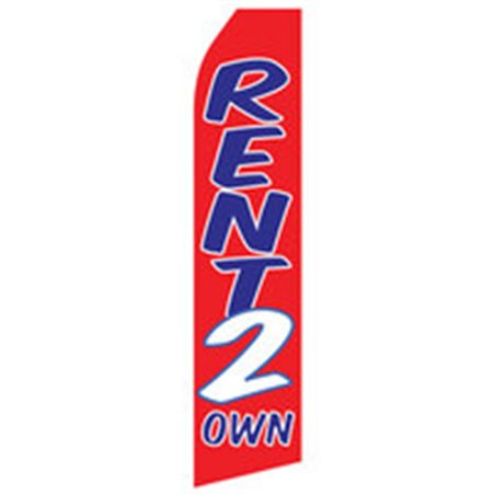 Open House1 Econo Stock Flag Blue White Red  iP-1839 Real Estate Branding & Signage $0.00