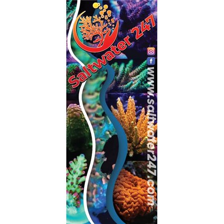 "Tension Fabric Stand 36""x90"" 1 or 2 Sided FREE SHIPPING 3690-B2-TFS Tension Banner $238.02"